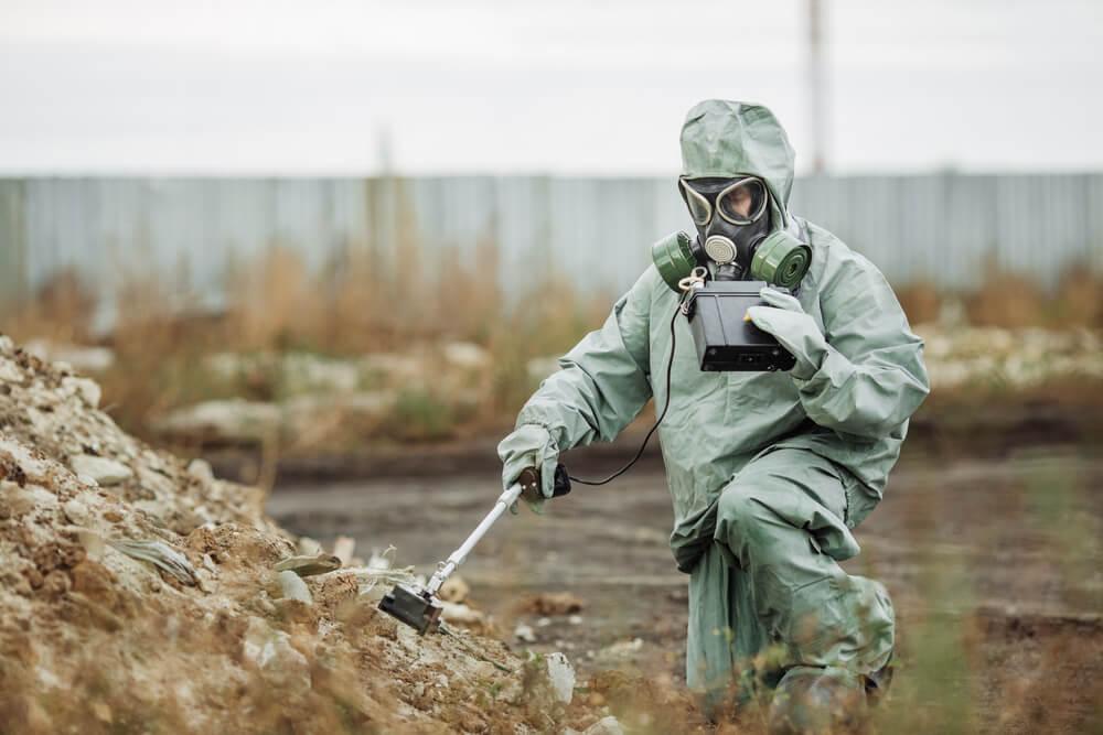 Kampf gegen die Verstrahlung von Tschernobyl